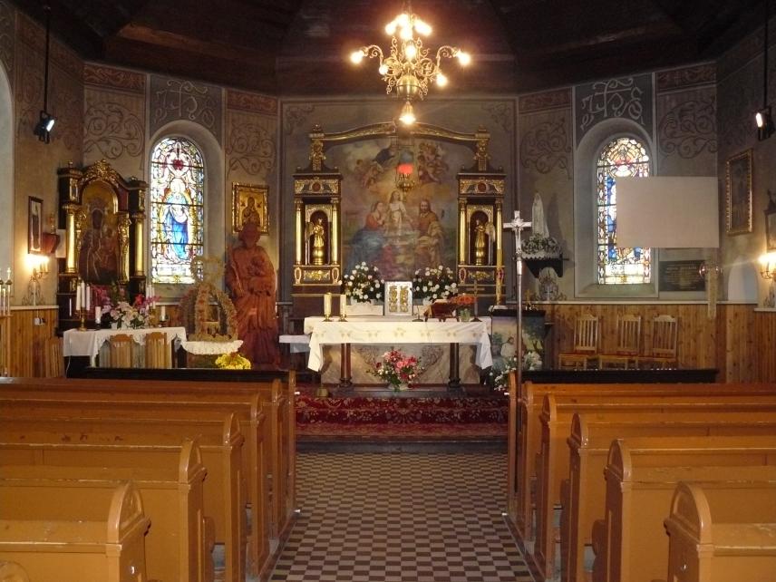 Znalezione obrazy dla zapytania wnętrze kościoła w jedwabnie